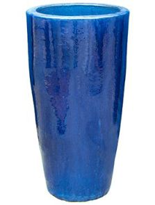 Blauw, Partner, diam: 41cm, H: 69cm