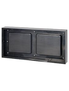 BioMontage, 30,5 cm x 61 cm Frame in Solid Shine Black, L: 30,5cm, H: 7cm, B: 61cm