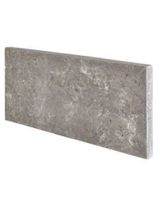 BioMontage, Panel lava grey rectangle, L: 58cm, H: 3cm, B: 28cm