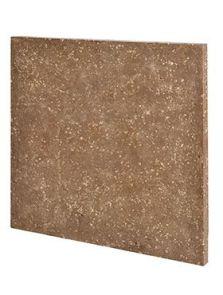 BioMontage, Panel rock (plain) square, L: 58cm, H: 3cm, B: 58cm