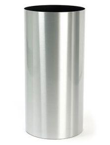 Alure Pilaro, Aluminium geborsteld gelakt, diam: 30cm, H: 75cm