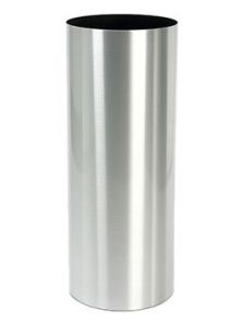 Alure Pilaro, Aluminium geborsteld gelakt, diam: 30cm, H: 90cm