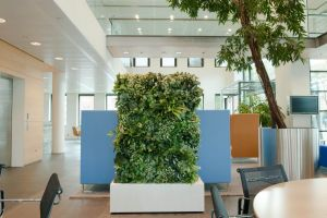 Groene wand kunstplanten