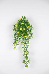 Roosje hang Geel, L: 65cm