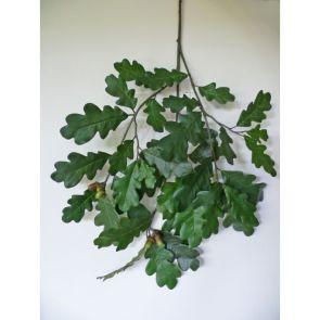 Common Oak Spray met eikels - Vlamvertragend behandeld, H: 60 cm