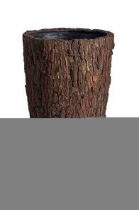 Bosco Vaas Groot Schors, diam: 57cm, H: 120cm