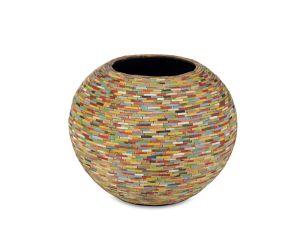 Caribbean round bowl, diam: 50cm, H: 40cm