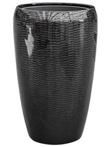 Amfi, Partner Glossy Snake Black, diam: 43cm, H: 68cm