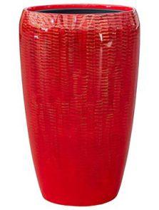 Amfi, Partner Glossy Snake Red, diam: 43cm, H: 68cm