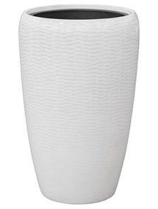 Amfi, Partner Glossy Snake White, diam: 43cm, H: 68cm