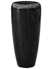 Amfi, Partner Glossy Snake Black, diam: 34cm, H: 75cm