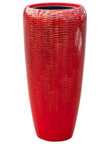 Amfi, Partner Glossy Snake Red, diam: 34cm, H: 75cm