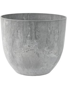 artstone bola pot grey diam 28cm h 24cm