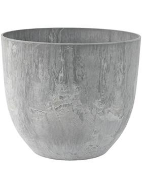 artstone bola pot grey diam 33cm h 29cm