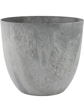 artstone bola pot grey diam 55cm h 45cm