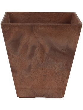 artstone ella pot oak l 20cm h 20cm b 20cm