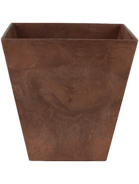 artstone ella pot oak l 45cm h 45cm b 45cm