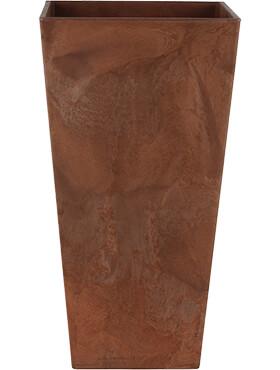 artstone ella vase oak l 26cm h 49cm b 26cm