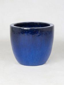 Blauw, Couple extra, diam: 39cm, H: 34cm