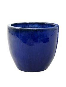 Blauw, Couple extra, diam: 46cm, H: 43cm