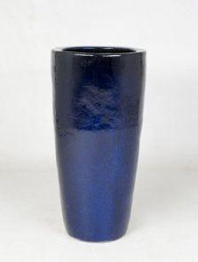 Blauw, Partner, diam: 36cm, H: 70cm