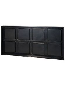 BioMontage, 122 cm x 61 cm Frame in Solid Shine Black, L: 122cm, H: 7cm, B: 61cm