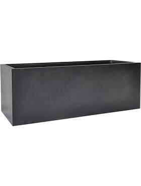 basic rectangle dark grey met inzetbak l 110cm h 40cm b 40cm