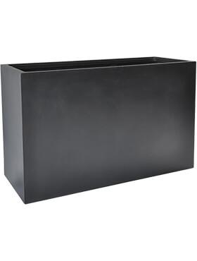 basic rectangle dark grey met inzetbak l 110cm h 70cm b 40cm
