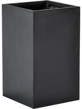 basic square dark grey l 15cm h 26cm b 15cm