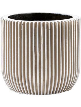 capi nature pot bol groove iii ivoor diam 15cm h 14cm