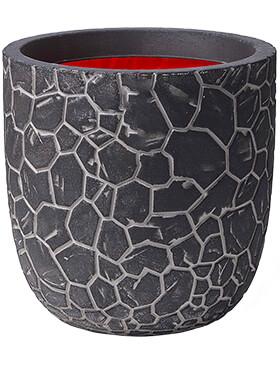 capi nature clay nl pot bol antraciet diam 35cm h 34cm