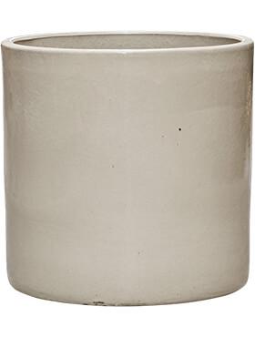 cylinder pot cream diam 50cm h 50cm
