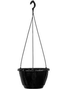 Cultuurpot Laveredo, Hangschaal Zwart, diam: 25cm