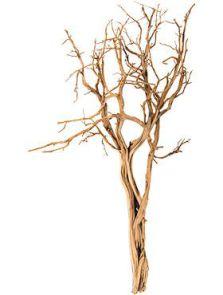 Decowood, Ghostwood sandblasted, L: 55cm