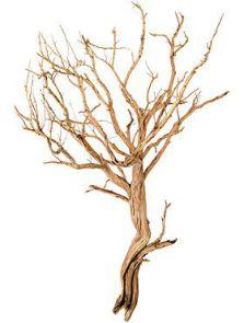 Decowood, Ghostwood sandblasted, L: 80cm