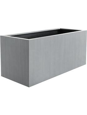 argento box natural grey l 60cm h 20cm b 20cm