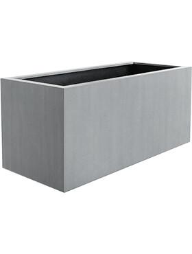 argento box natural grey l 100cm h 50cm b 50cm