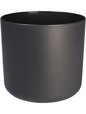 b for soft round anthracite diam 22cm h 20cm