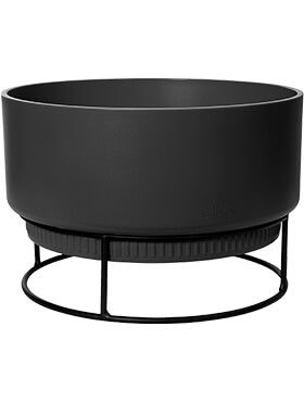 b for studio bowl living black diam 295cm h 191cm