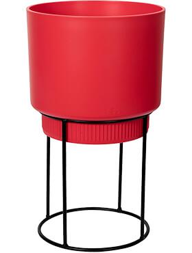 b for studio round brilliant red diam 222cm h 382cm