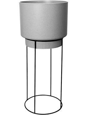 b for studio round living concrete diam 295cm h 689cm