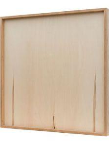 Bamboe frame, Naturel, L: 100cm, H: 6cm, B: 100cm