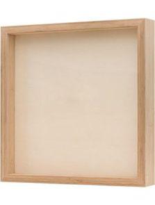 Bamboe frame, Naturel, L: 40cm, H: 6cm, B: 40cm