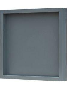 Hout frame, MDF RAL 7016 zijdeglans, L: 40cm, H: 6cm, B: 40cm