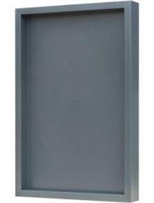 Hout frame, MDF RAL 7016 zijdeglans, L: 40cm, H: 6cm, B: 60cm