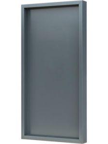 Hout frame, MDF RAL 7016 zijdeglans, L: 40cm, H: 6cm, B: 80cm