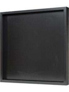 Hout frame, MDF RAL 9005 zijdeglans, L: 60cm, H: 6cm, B: 60cm