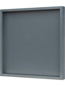 Hout frame, MDF RAL 7016 zijdeglans, L: 60cm, H: 6cm, B: 60cm