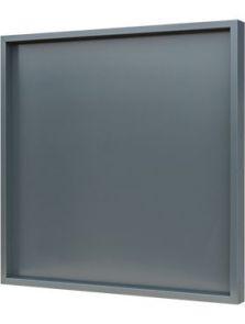 Hout frame, MDF RAL 7016 zijdeglans, L: 80cm, H: 6cm, B: 80cm