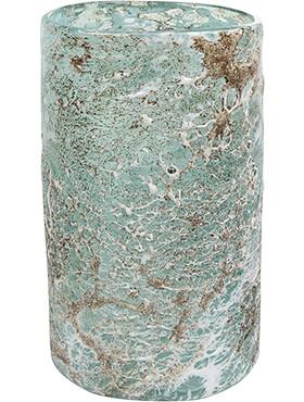 aya vase cylinder ice green diam 15cm h 27cm